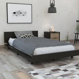 CWM3876 Cama 1.20 Kaia_Wengue Ebani Colombia tienda online de decoración y mobiliario RTA