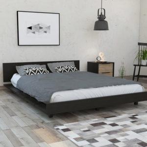 CWM3876 Cama 1.60 Kaia_Wengue_Ambientada Ebani Colombia tienda online de decoración y mobiliario RTA