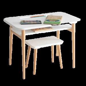 Escritorio para PC o estudio sencillo para niños con silla incluida ebani Colombia tienda online de decoracion y mobiliario