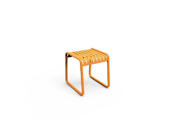 Mesa auxiliar de estilo minimalista whitebrand ebani tienda online de decoracion_mesa_V5018-TS Amarillo