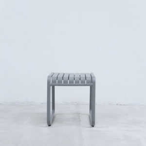 Mesa auxiliar de estilo minimalista whitebrand ebani tienda online de decoracion_mesa_V5018-TS Gris claro