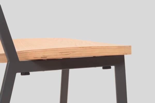 Silla auxiliar para comedor o escritorio minimalista whitebrand ebani tienda online de decoracion_silla_SD9340AN