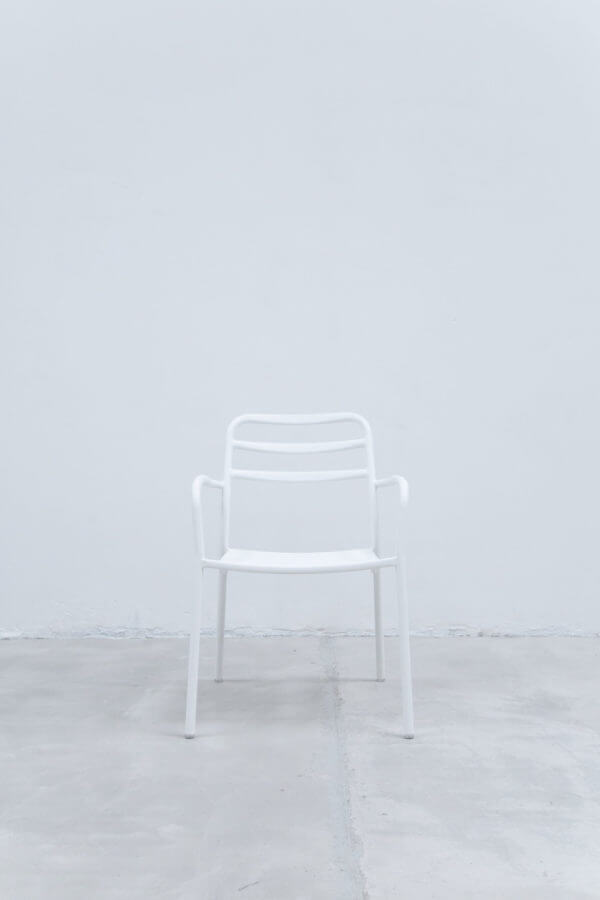 Silla auxiliar para comedor o escritorio minimalista whitebrand ebani tienda online de decoracion_silla_V3417-D1 Blanco