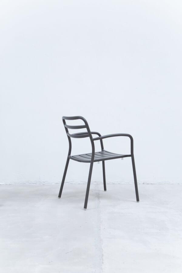 Silla auxiliar para comedor o escritorio minimalista whitebrand ebani tienda online de decoracion_silla_V3417-D1 Gris oscuro
