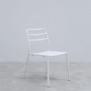 Silla auxiliar para comedor o escritorio minimalista whitebrand ebani tienda online de decoracion_silla_V3417-DW Blanco