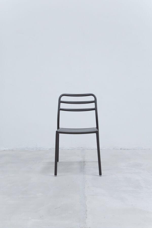 Silla auxiliar para comedor o escritorio minimalista whitebrand ebani tienda online de decoracion_silla_V3417-DW Gris oscuro