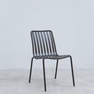 Silla auxiliar para comedor o escritorio minimalista whitebrand ebani tienda online de decoracion_silla_V5213-DW Gris oscuro