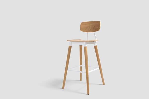 Silla para barra minimalista whitebrand ebani tienda online de decoracion_silla_WB-540