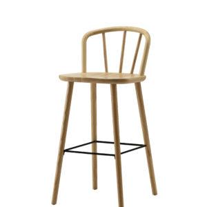 Silla para barra minimalista whitebrand ebani tienda online de decoracion_silla_WD-1385C