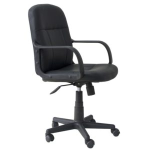 sln-3284 Silla de Oficina Neumt PVC BNYL Technimobili Negra ebani tienda online de decoracion y mobiliario