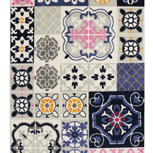 Alfombras para sala o Tapetes colorado Mosaic-206�1 Ebani Colombia tienda online de decoración y mobiliario ilunga