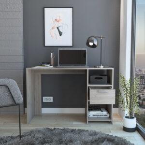 Escritorio Moderno Para PC o Estudio omma (1c) ceniza Ebani Colombia tienda online de decoración y mobiliario RTA