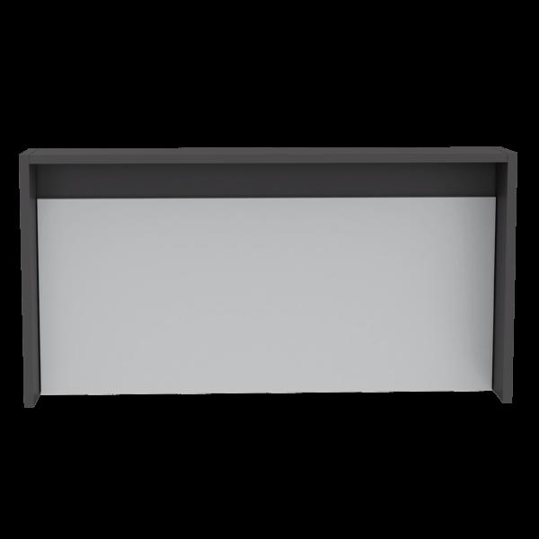 Escritorio Moderno Para PC o Estudio the wall (1c) plomo + blanco Ebani Colombia tienda online de decoración y mobiliario RTA