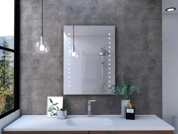 Espejo Decorativo o para baño Bra Ebani Colombia tienda online de decoración y mobiliario Reflekta