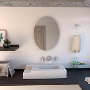 Espejo Decorativo o para baño Napoli Ebani Colombia tienda online de decoración y mobiliario Reflekta