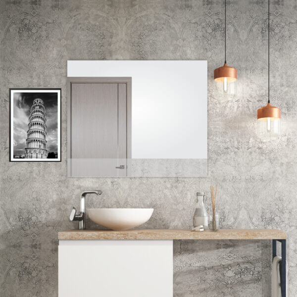 Espejo Decorativo o para baño Palermo Ebani Colombia tienda online de decoración y mobiliario Reflekta