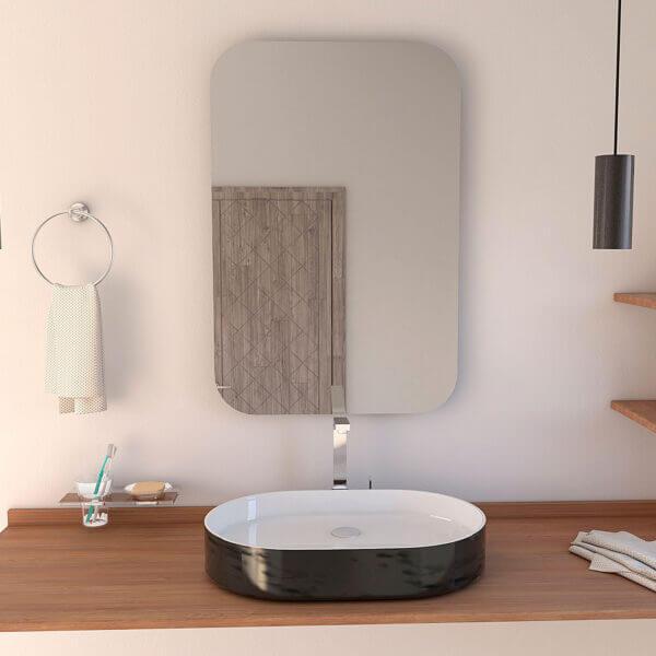 Espejo Decorativo o para baño Pompei Ebani Colombia tienda online de decoración y mobiliario Reflekta