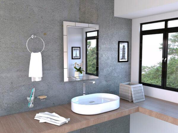Espejo Decorativo o para baño Turín Ebani Colombia tienda online de decoración y mobiliario Reflekta