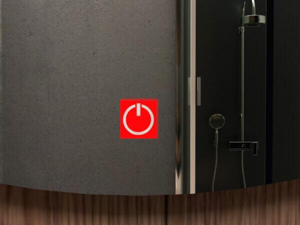 Espejo con luces Oval led+touch Ebani Colombia tienda online de decoración y mobiliario Reflekta