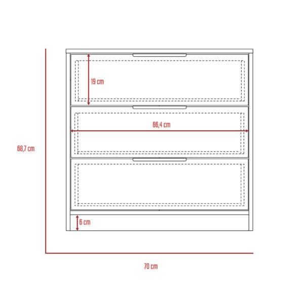ISO Comoda 3 cajones Kaia_Frontal-01
