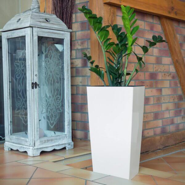 Matera de Piso Urbi 75 cm Blanco Ebani Colombia tienda online de decoración y mobiliario TUMATERA