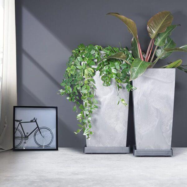 Matera de Piso Urbi Beton 75 cm Concreto Ebani Colombia tienda online de decoración y mobiliario TUMATERA