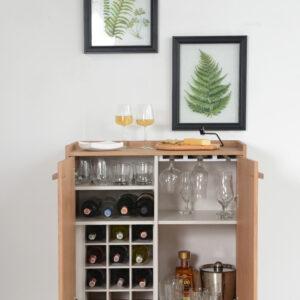 Mueble de Bar Viena Ebani Colombia tienda online de decoración y mobiliario Bugel Studio