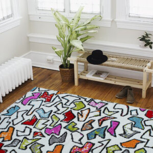 Alfombras para sala o Tapetes brush NBRU-603 Ebani Colombia tienda online de decoración y mobiliario ilunga