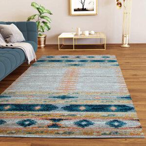 Alfombras para sala o Tapetes ethnique NETH-703 Ebani Colombia tienda online de decoración y mobiliario ilunga