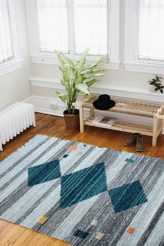 Alfombras para sala o Tapetes ethnique NETH-704 Ebani Colombia tienda online de decoración y mobiliario ilunga