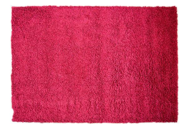 Alfombras para sala o Tapetes furry rojo Ebani Colombia tienda online de decoración y mobiliario ilunga
