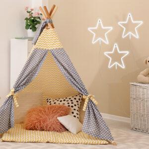 Aplique de pared estrella neón led Ebani Colombia tienda online de decoración y mobiliario Lienxo