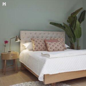 Cama milán Ebani Colombia tienda online de decoración y mobiliario Murano Galeria