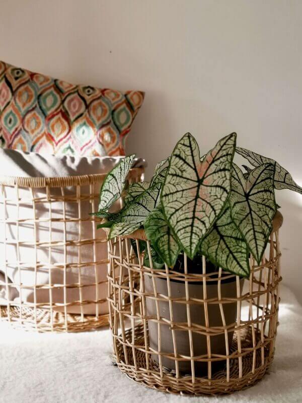 Canasta en mimbre Juana 2 Ebani Colombia tienda online de decoración y mobiliario Madre monte