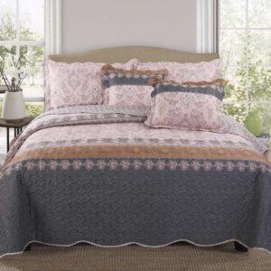 Colcha o Cubrelecho quilt ornamentos doble faz Ebani Colombia tienda online de decoración y mobiliario My home store
