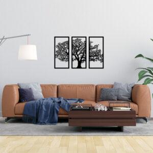 Cuadro Decorativo Arbol Tríptico 1.0 Ebani Colombia tienda online de decoración y mobiliario Lansede