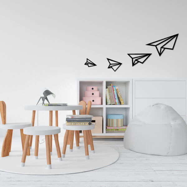 Cuadro Decorativo Aviones de Papel 1.0 Ebani Colombia tienda online de decoración y mobiliario Lansede