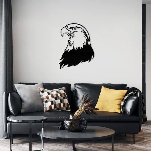 Cuadro Decorativo Cara Aguila 1.0 Ebani Colombia tienda online de decoración y mobiliario Lansede