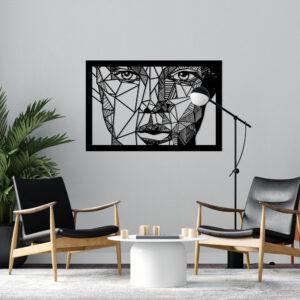 Cuadro Decorativo Cara Humana 1.0 Ebani Colombia tienda online de decoración y mobiliario Lansede