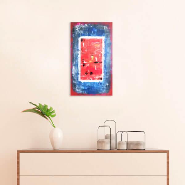 Cuadro Decorativo Contra corriente Ebani Colombia tienda online de decoración y mobiliario Akoru