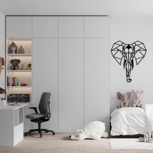 Cuadro Decorativo Elefante 1.0 Ebani Colombia tienda online de decoración y mobiliario Lansede
