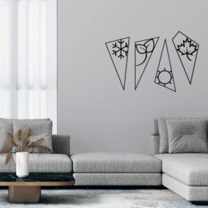 Cuadro Decorativo Estaciones 1.0 Ebani Colombia tienda online de decoración y mobiliario Lansede