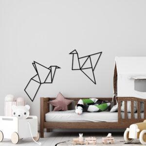 Cuadro Decorativo Grullas 1.0 Ebani Colombia tienda online de decoración y mobiliario Lansede