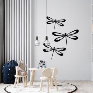 Cuadro Decorativo Libélulas 1.0 Ebani Colombia tienda online de decoración y mobiliario Lansede