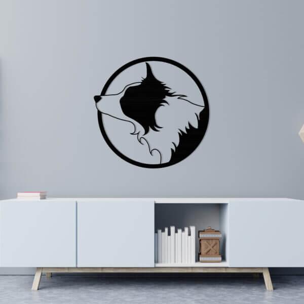Cuadro Decorativo Perro 1.0 Ebani Colombia tienda online de decoración y mobiliario Lansede