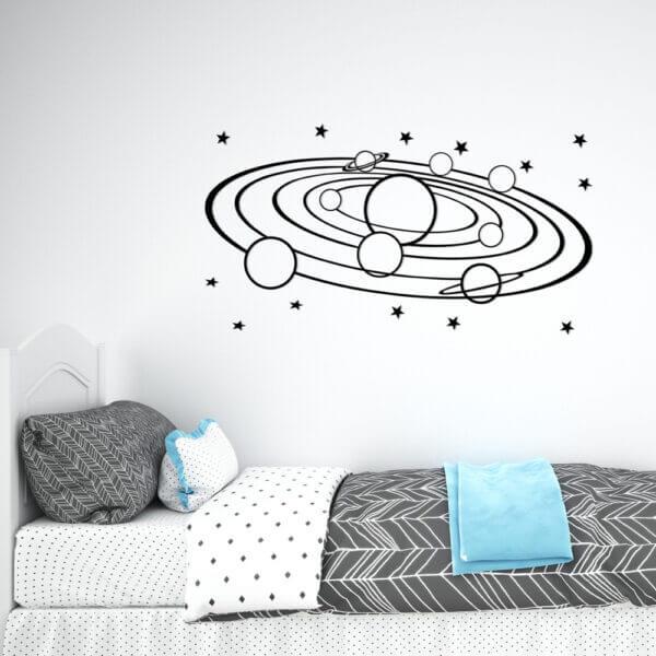 Cuadro Decorativo Planetas 1.0 Ebani Colombia tienda online de decoración y mobiliario Lansede