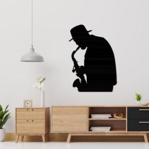 Cuadro Decorativo Saxofonista 1.0 Ebani Colombia tienda online de decoración y mobiliario Lansede