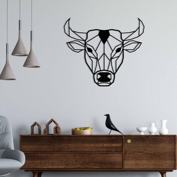 Cuadro Decorativo Toro 1.0 Ebani Colombia tienda online de decoración y mobiliario Lansede