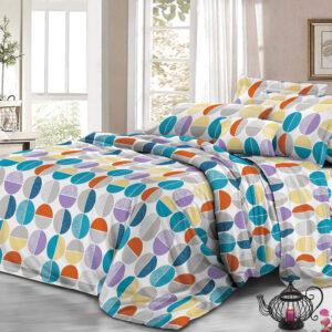 Juego de sábanas círculos colores Ebani Colombia tienda online de decoración y mobiliario My home store