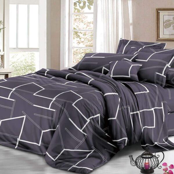 Juego de sábanas geométrico Ebani Colombia tienda online de decoración y mobiliario My home store